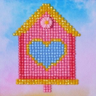 Diamond Dotz Diamond Embroidery Facet Art Kit 6X6-Bird House