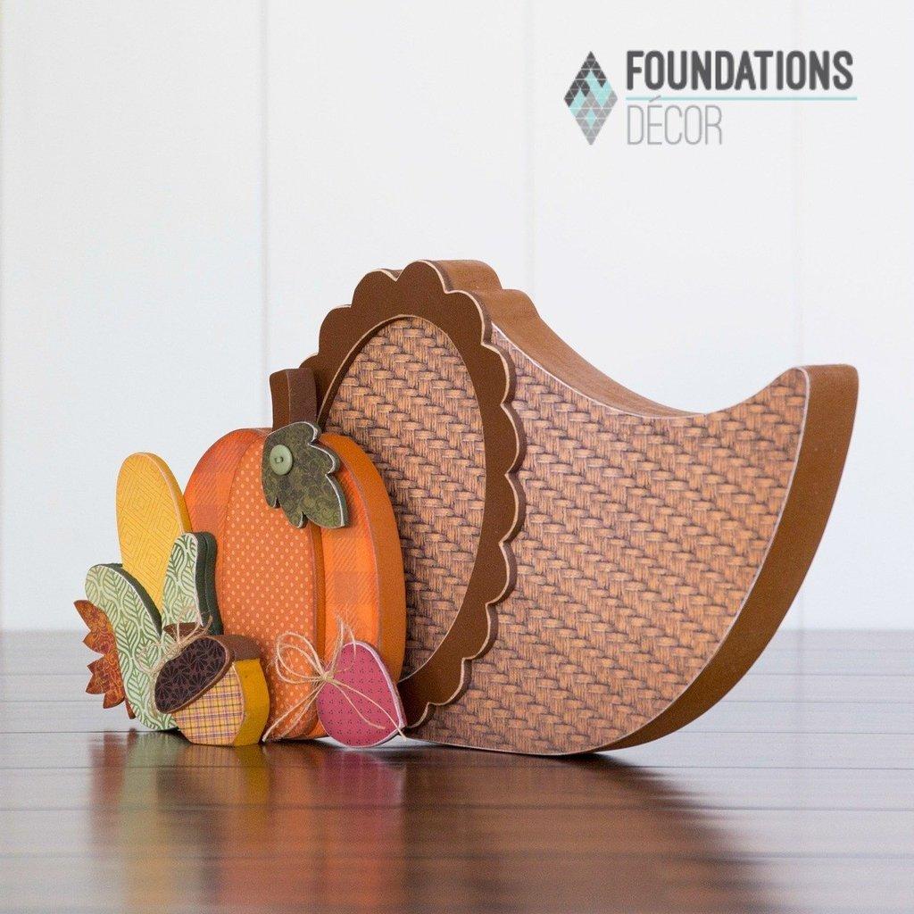 Foundations Decor Cornucopia