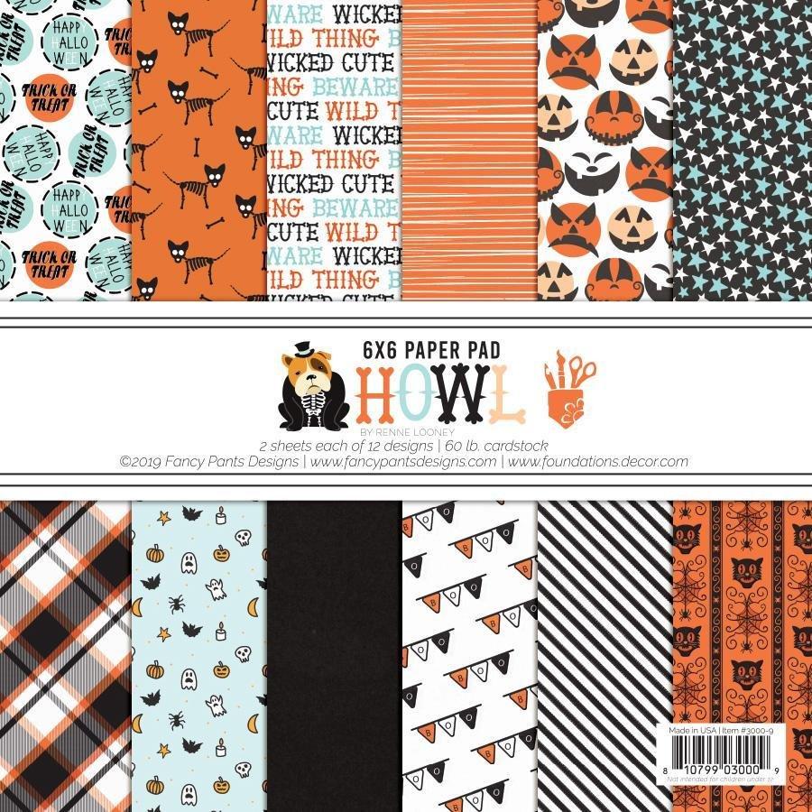 Howl 6x6 paper pad