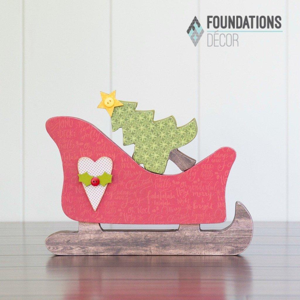 Foundations Decor Sleigh