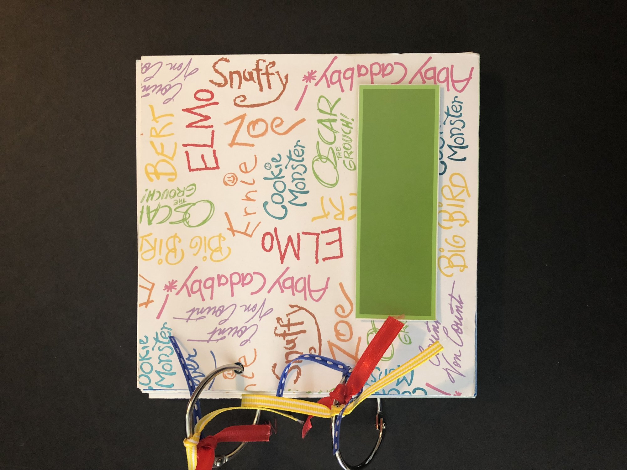 Sesame Street Mini Album Kit
