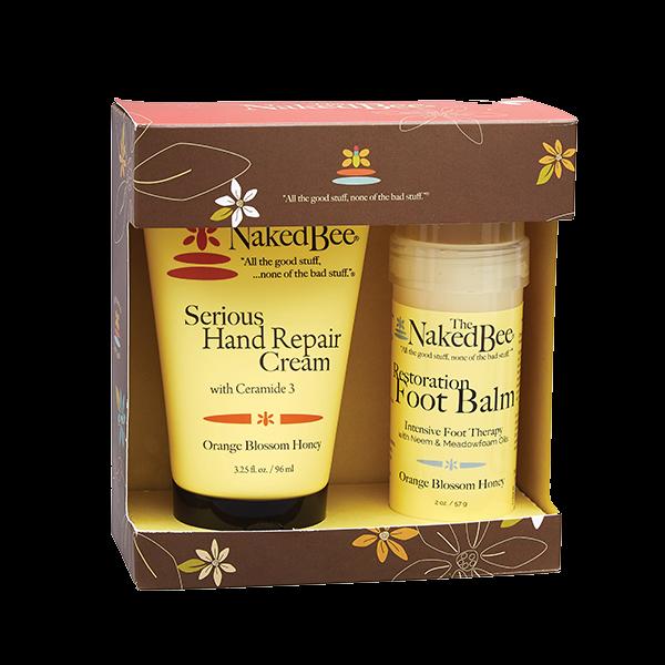 The Naked Bee Orange Blossom Honey Hands & Feet Gift Set