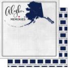 Design Paper-12x12-SC Alaska Adventure Flag DS