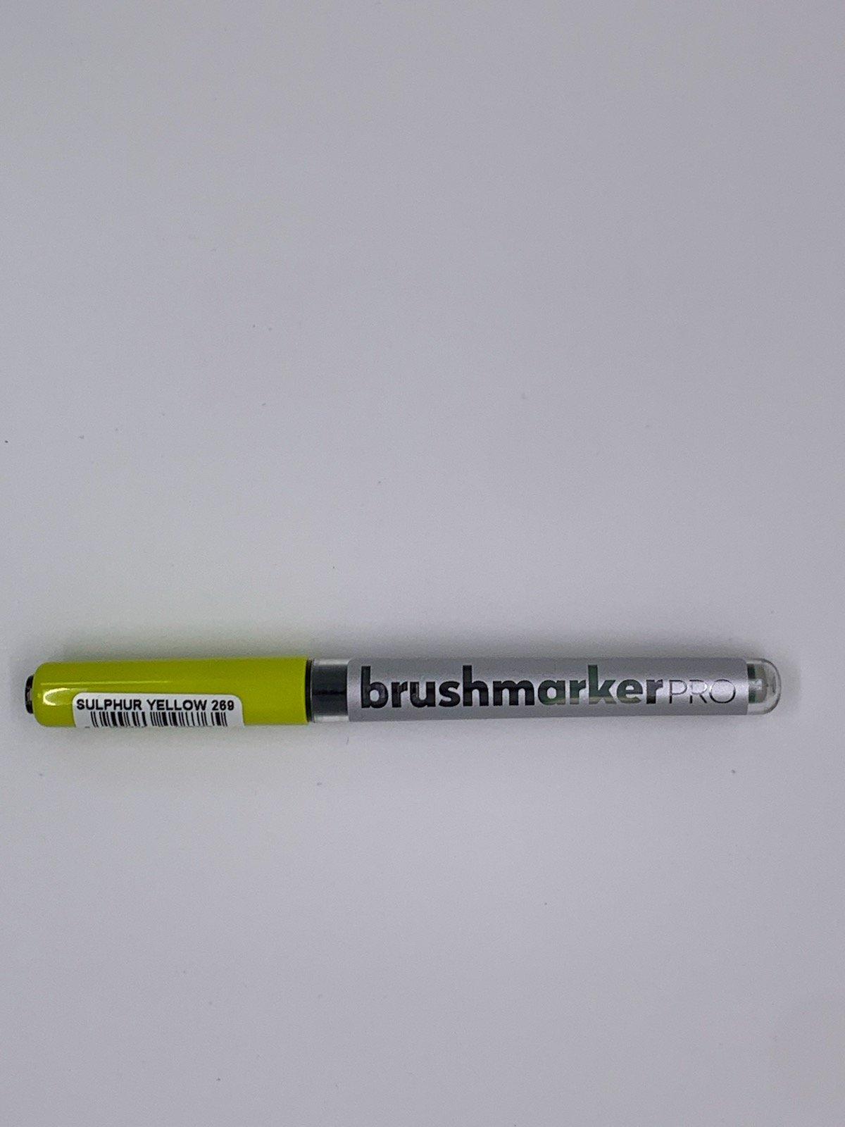 Brushmarker - Sulphur Yellow