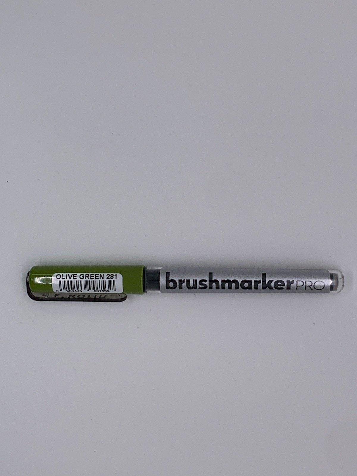 Brushmarker - Olive Green