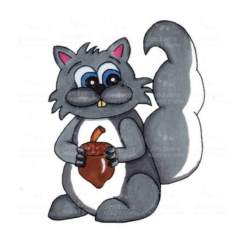 Squirrel Colored