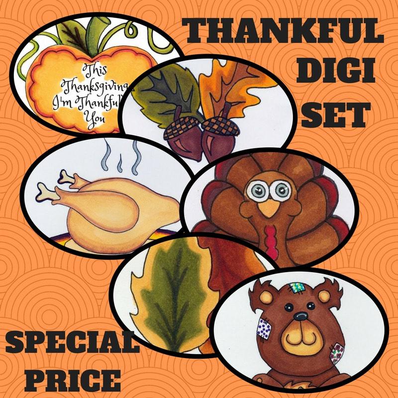 Thankful Digis Bundle