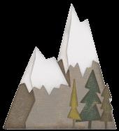 Sizzix Alpine Thinlits Die Set