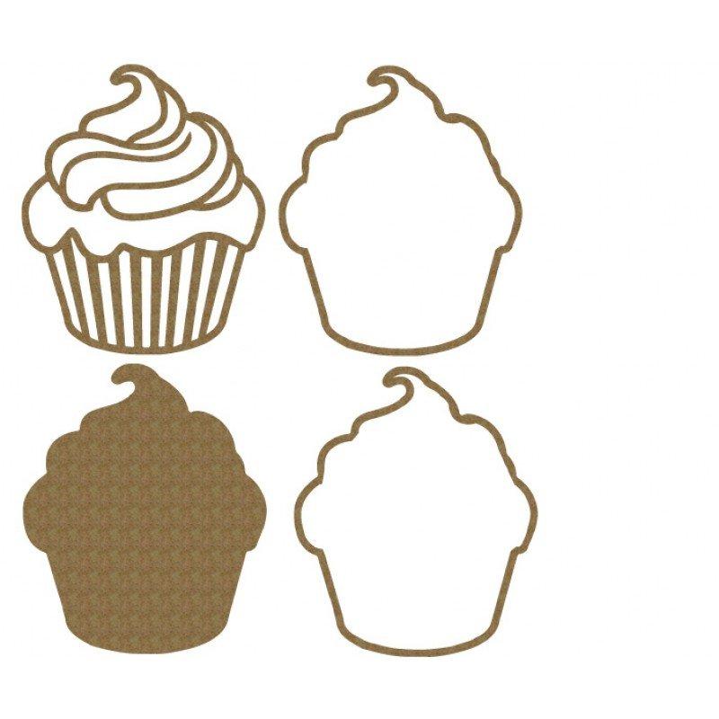 Creative Embellishments Cupcake Shaker Set