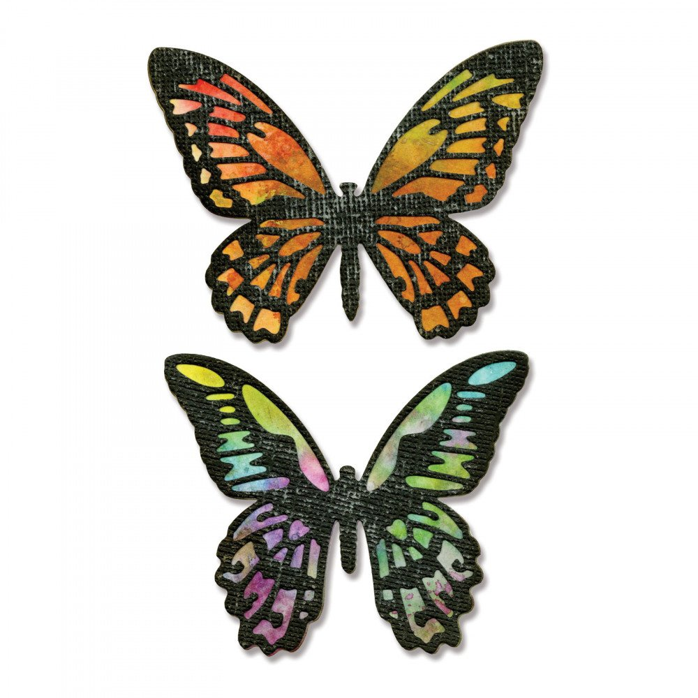 Sizzix Detailed Butterflies Thinlits Die Set
