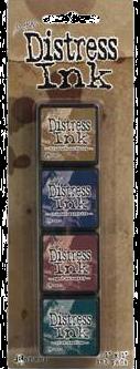 Tim Holtz Mini Distress Ink Kit #12