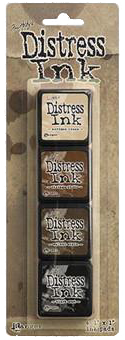 Tim Holtz Mini Distress Ink Kit #3
