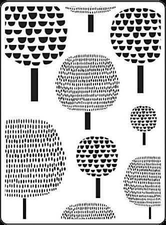 Darice Dot Tree Embossing Folder