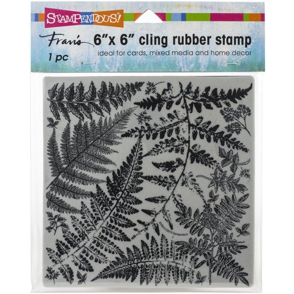 Stampendous Fern Garden Cling Stamp