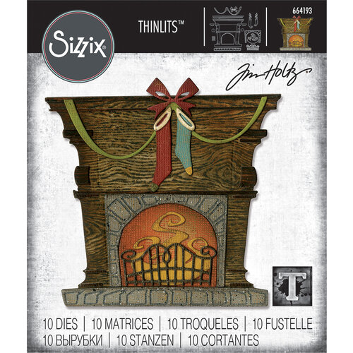 Tim Holtz Fireside by Sizzix