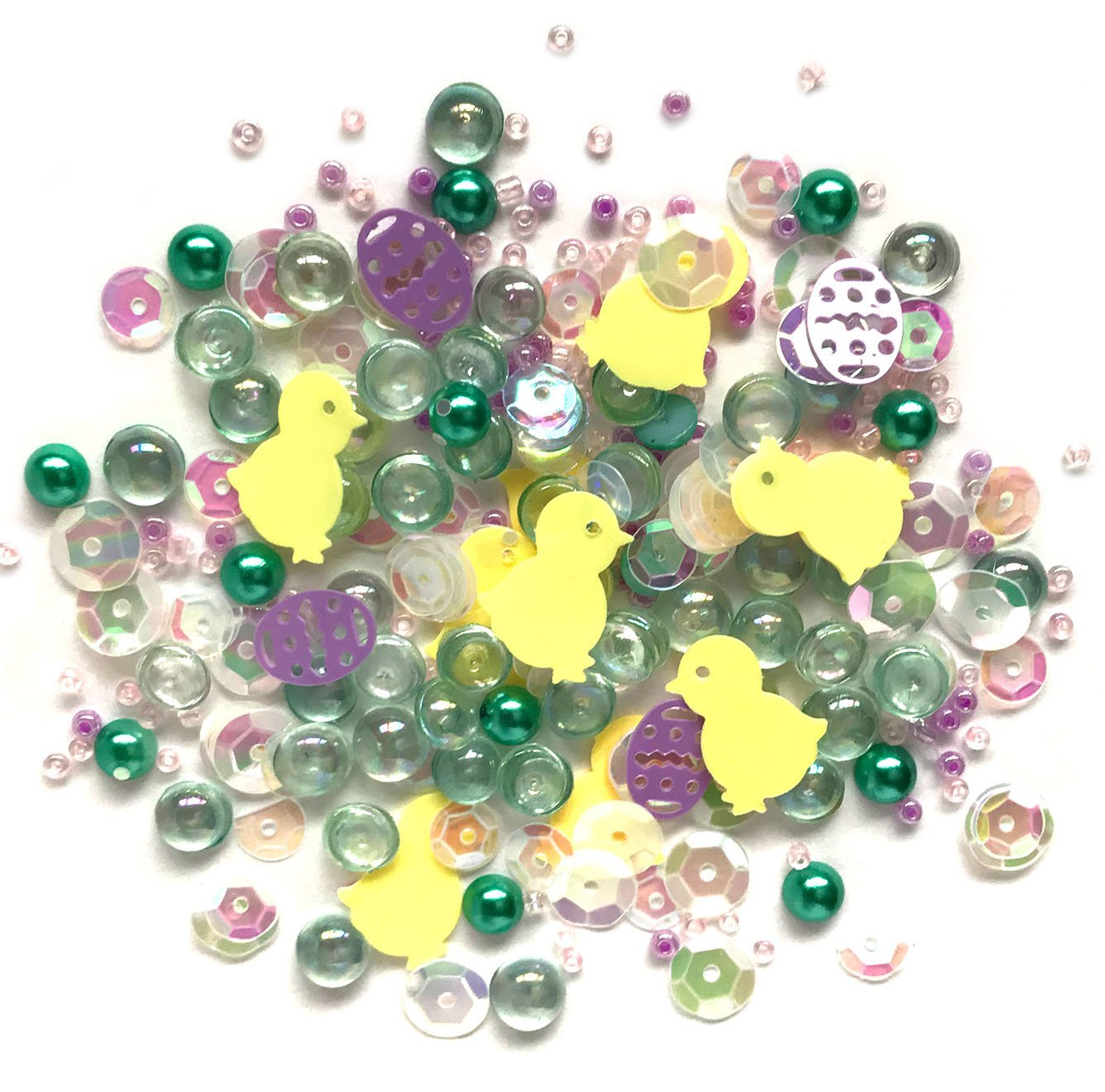 Buttons Galore Sparkletz - Happy Easter