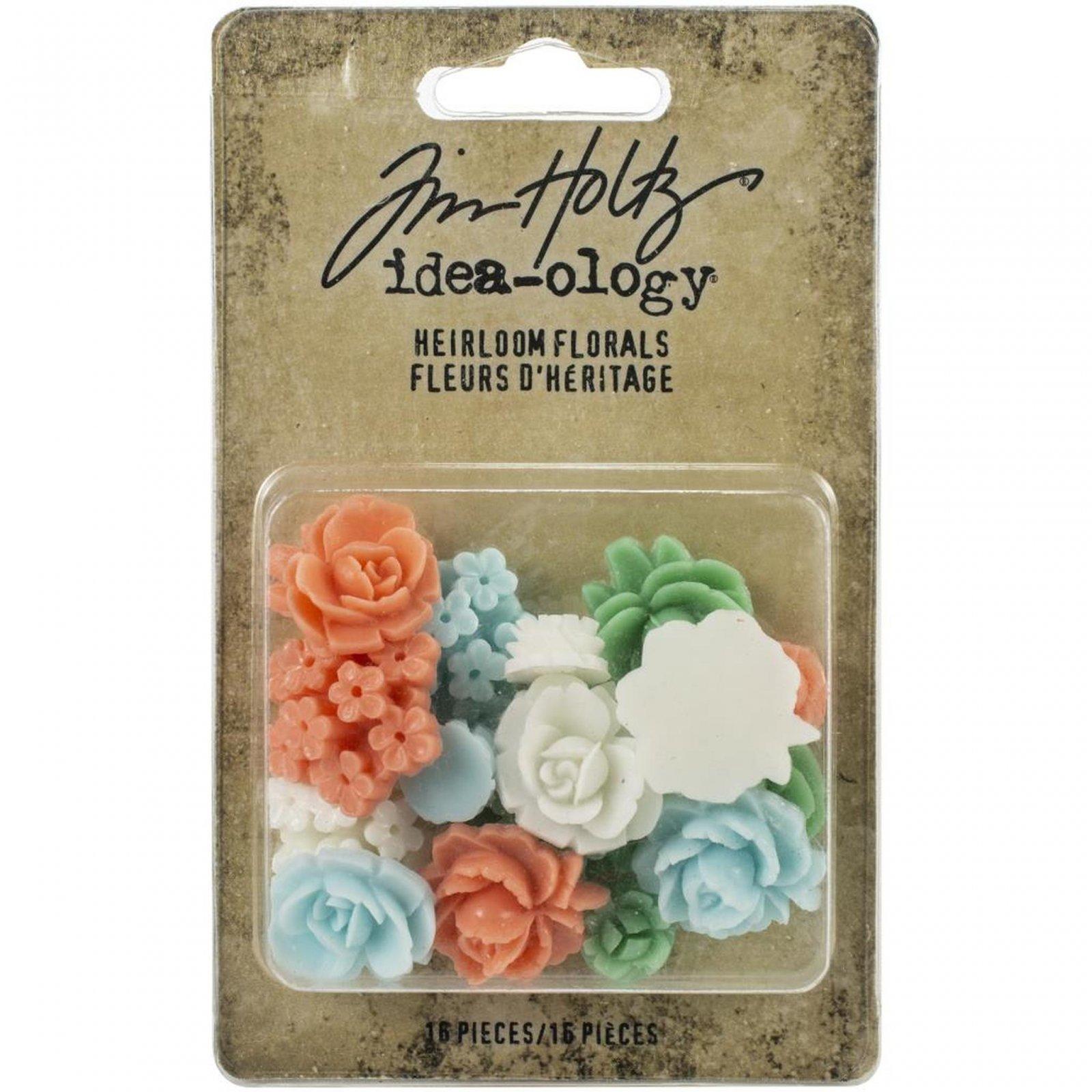 Idea-Ology Heirloom Florals 16/Pkg-