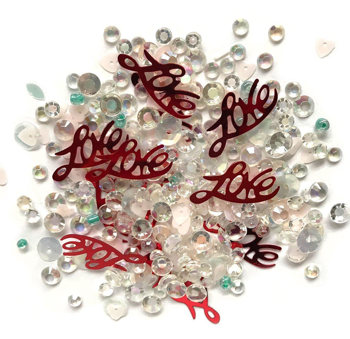 Buttons Galore Sparkletz Love Affair