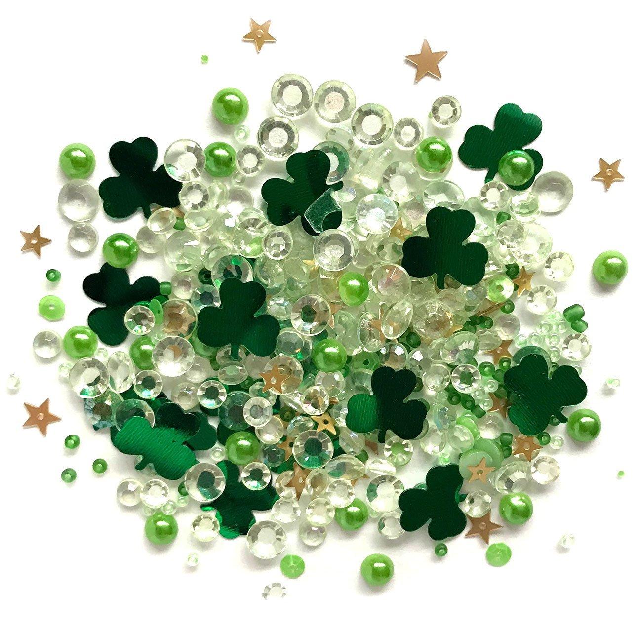 Buttons Galore Sparkletz - Lucky Charmz