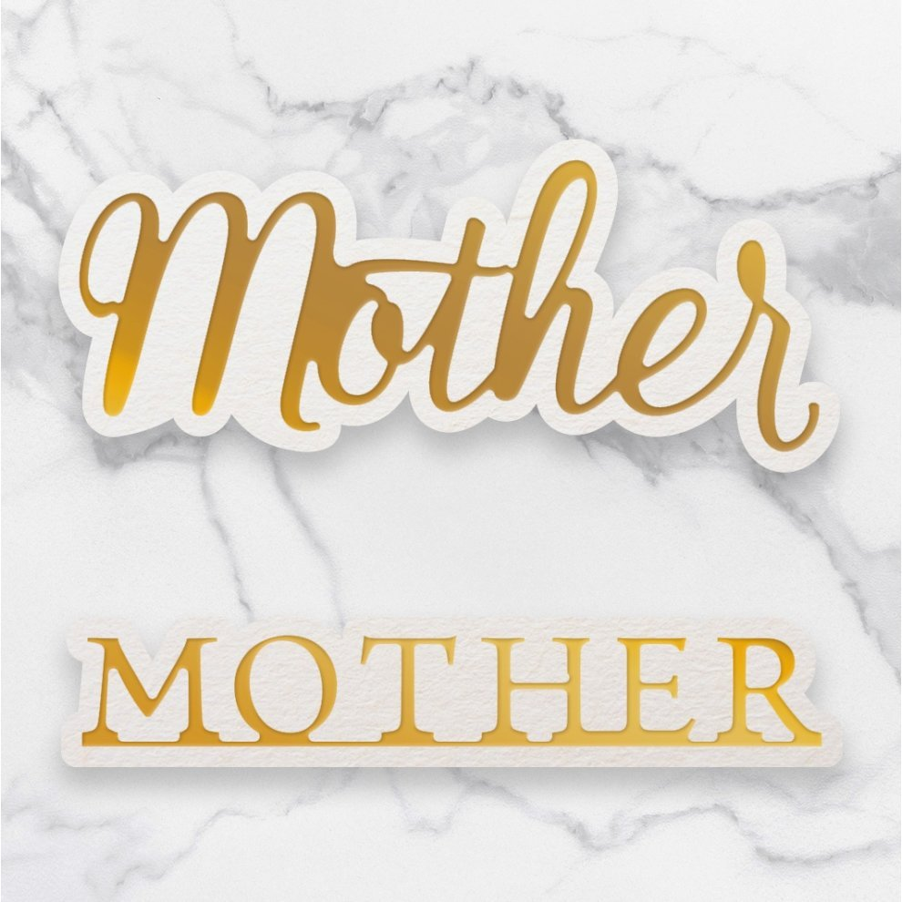 Couture Creations Mother Mini Dies