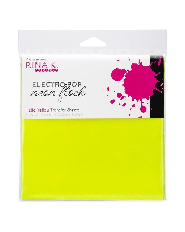 Rina K Designs Neon Flocking 6x6