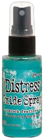 Tim Holtz Distress Oxide Spray Peacock Feathers