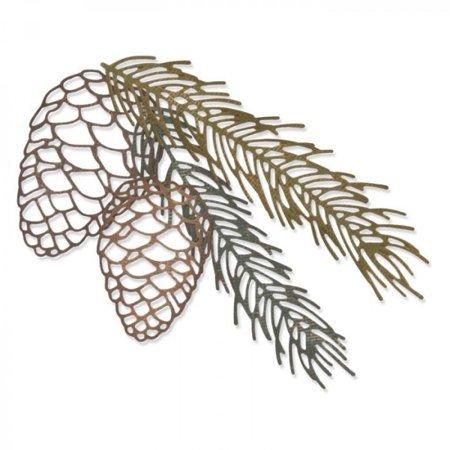 Sizzix Pine Branch Thinlits Die Set