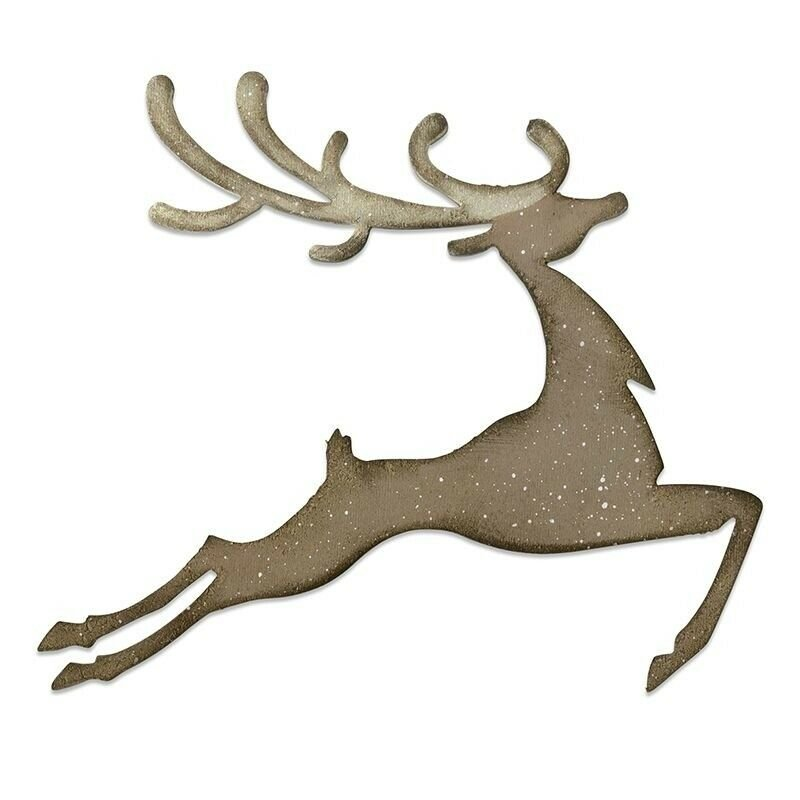 Tim Holtz Reindeer Bigz by Sizzix