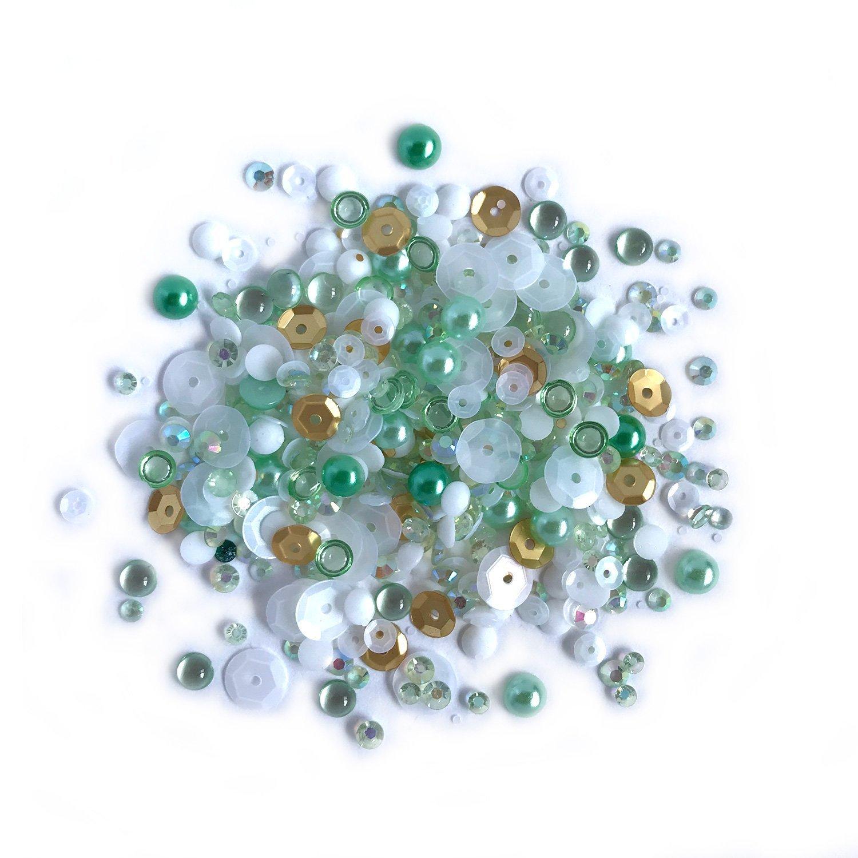 Buttons Galore Sparkletz - Coconut Palms