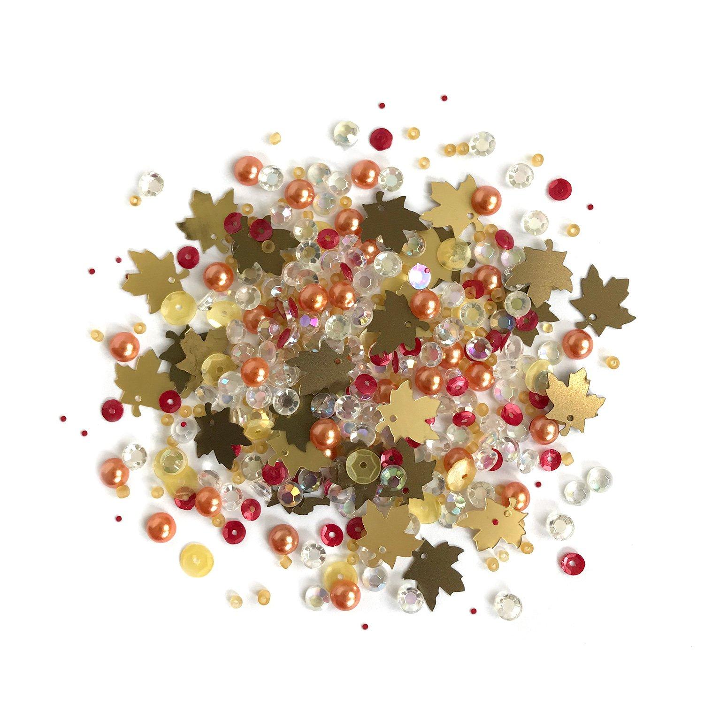 Buttons Galore Sparkletz - Fall Foliage