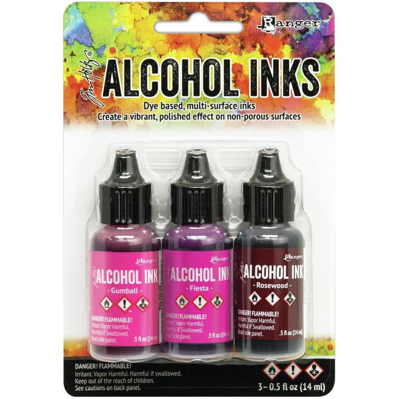 Tim Holtz Alcohol Ink .5oz 3/Pkg