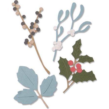 Sizzix Winter Leaves Thinlit Dies