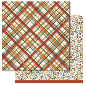Dare2BArtzy -Autumn Plaid 12x12 Paper