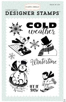 Carta Bella Wintertime Stamp Set