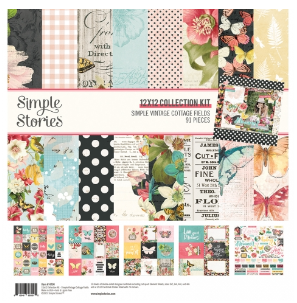 Simple Stories Simple Vintage Cottage Fields 12x12 Collection Kit