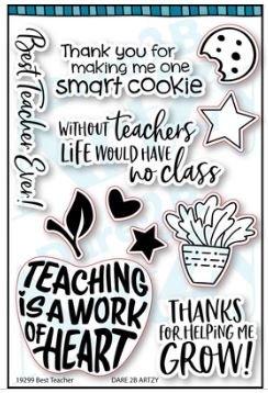 Best Teacher Stamp