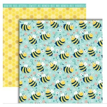 All the Buzz-Be Happy 12x12