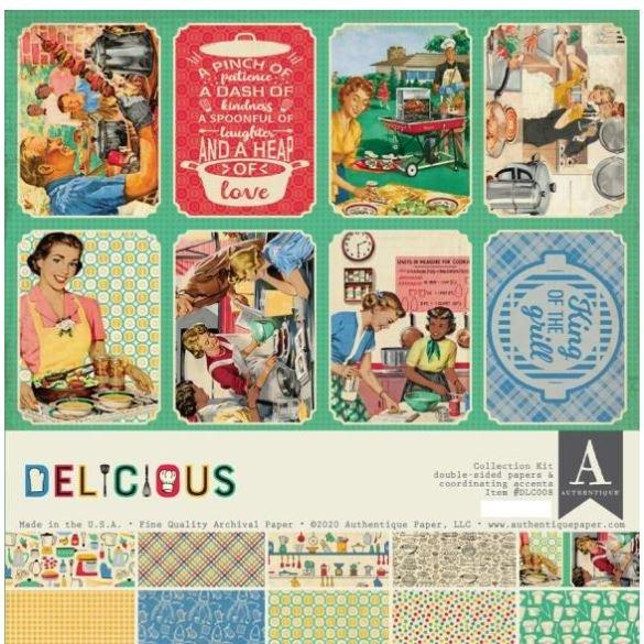Authentique Delicious Collection Kit