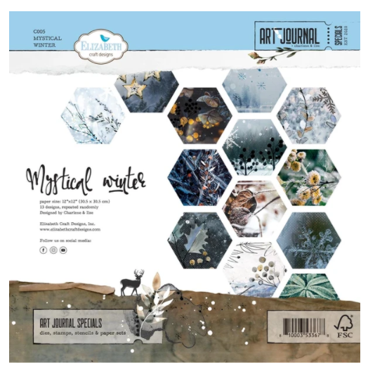 Elizabeth Craft Designs Mystical Winter 12x12 Paper Collection