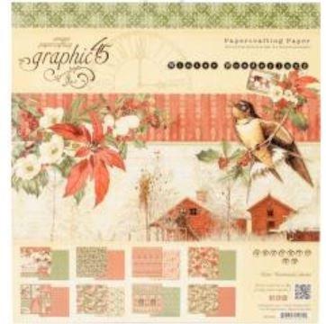 Graphic 45-Winter Wonderland 8x8 pad