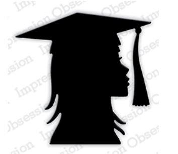 Girl Graduation Head Die