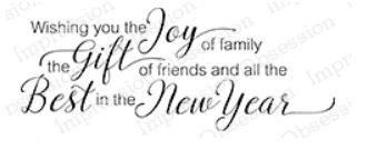 Wishing Joy in the new year