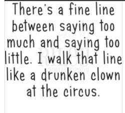 Riley Drunken Clown Stamp