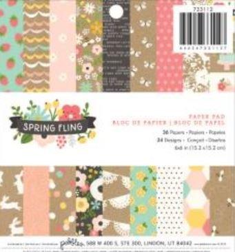 Spring Fling 6x6 pad
