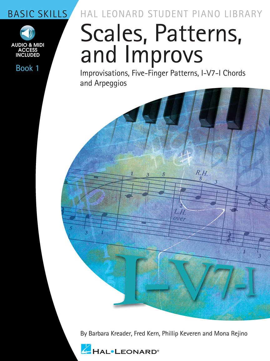 Hal Leonard Scales, Patterns, And Improvs