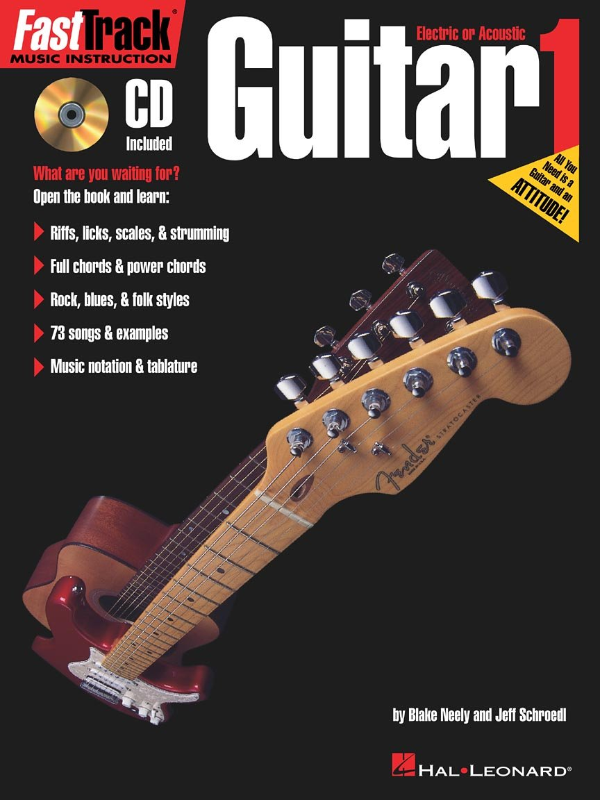 Fast Track Guitar Method Book