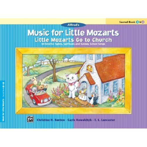 Music For Little Mozarts Sacred Book