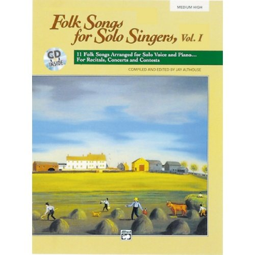 Folk Songs For Solo Singers Book