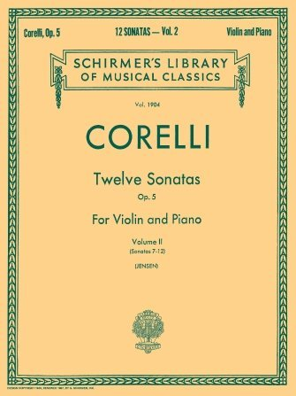 SCHIRMER'S LIBRARY VIOLIN & PIANO