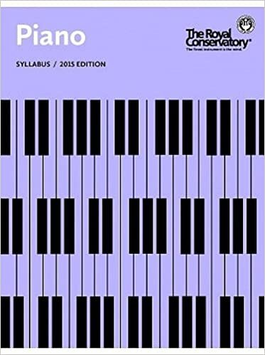 RCM Piano Syllabus Book (2015 Ed.)